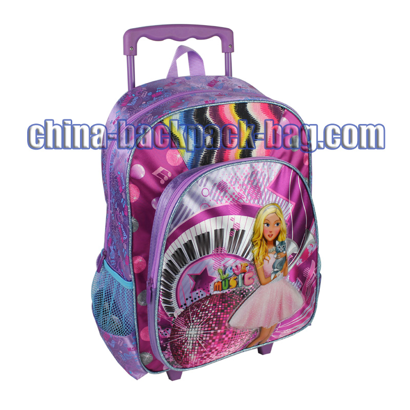 Small Wheeled Kids Backpack, ST-15LM06TR