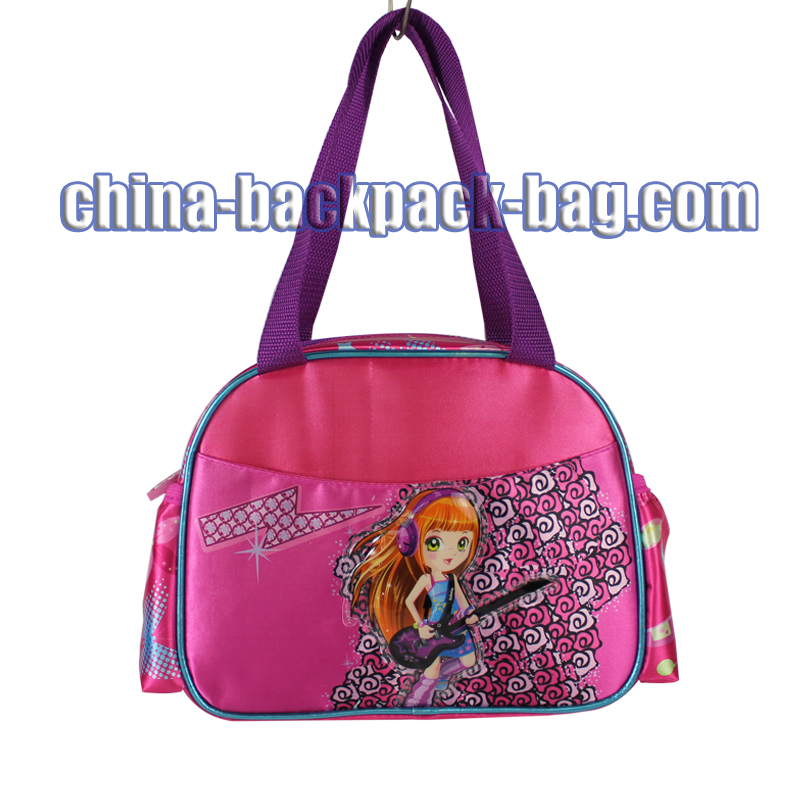 Pink Fabric Handbags for Little Girls, ST-15HG09HB
