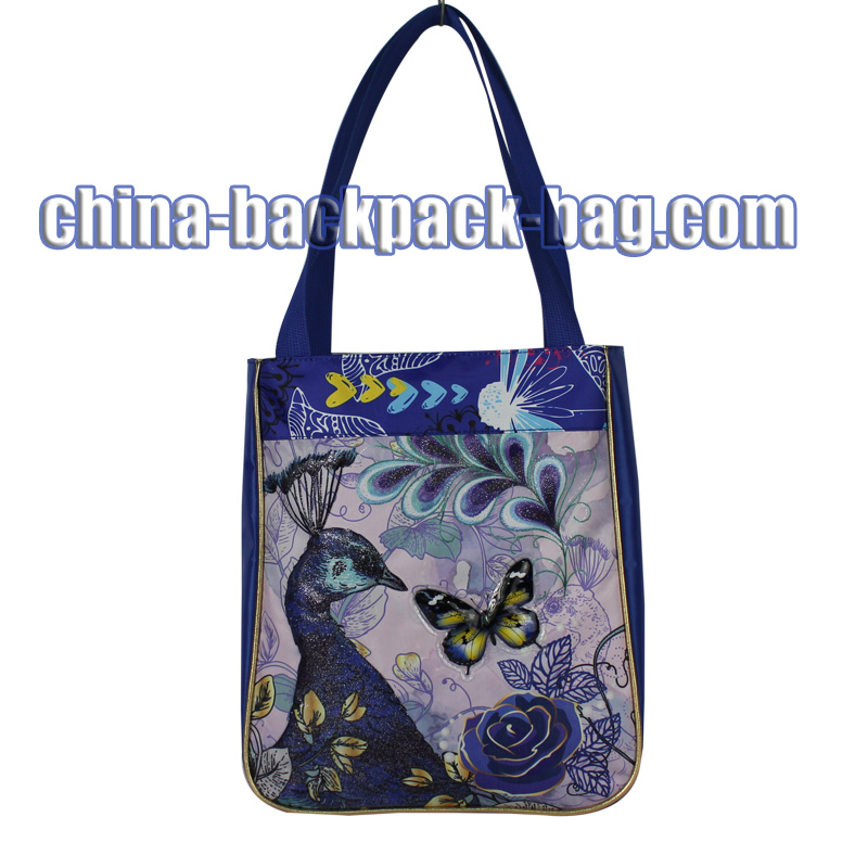 Purple Kids Handbags & Tote Bags, ST-15BF09SB