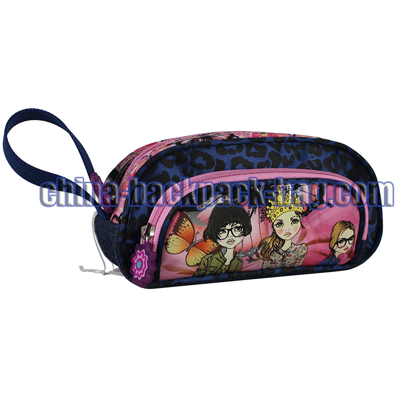 Cartoon Printing Pencil Case, ST-15BG11PC