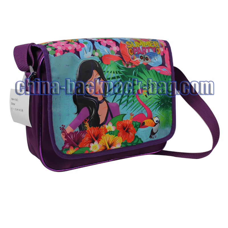 Twilled Shoulder Bag for Kids, ST-15SM08SB