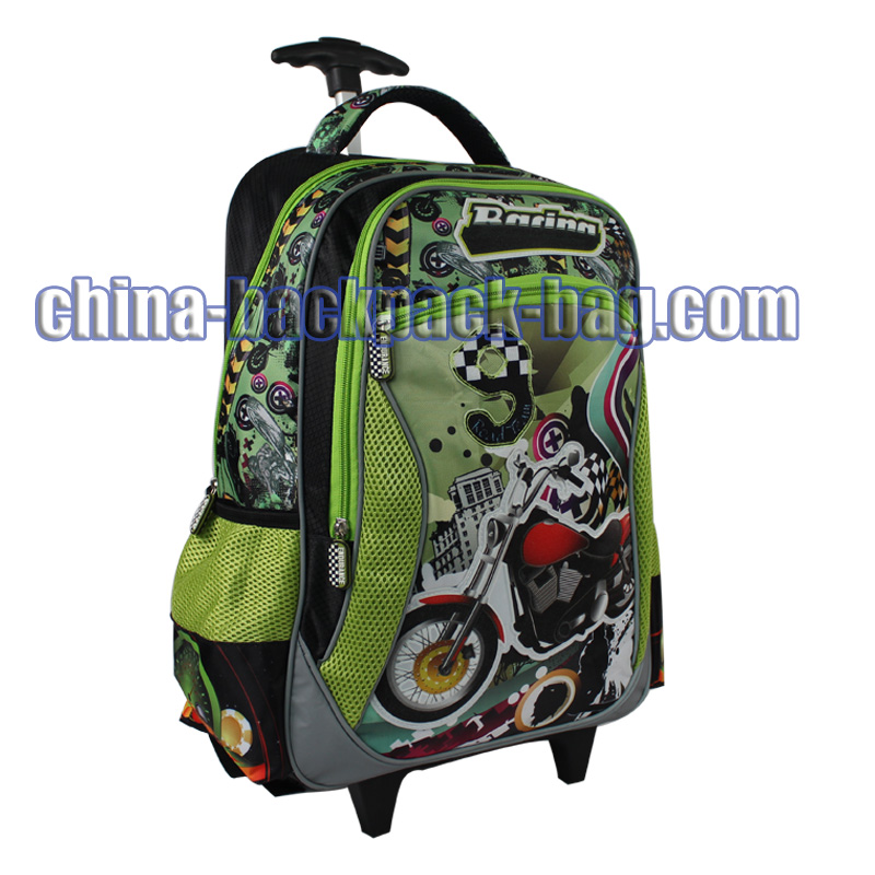 Autobike Painted Trolley Bag, ST-15TR06TB