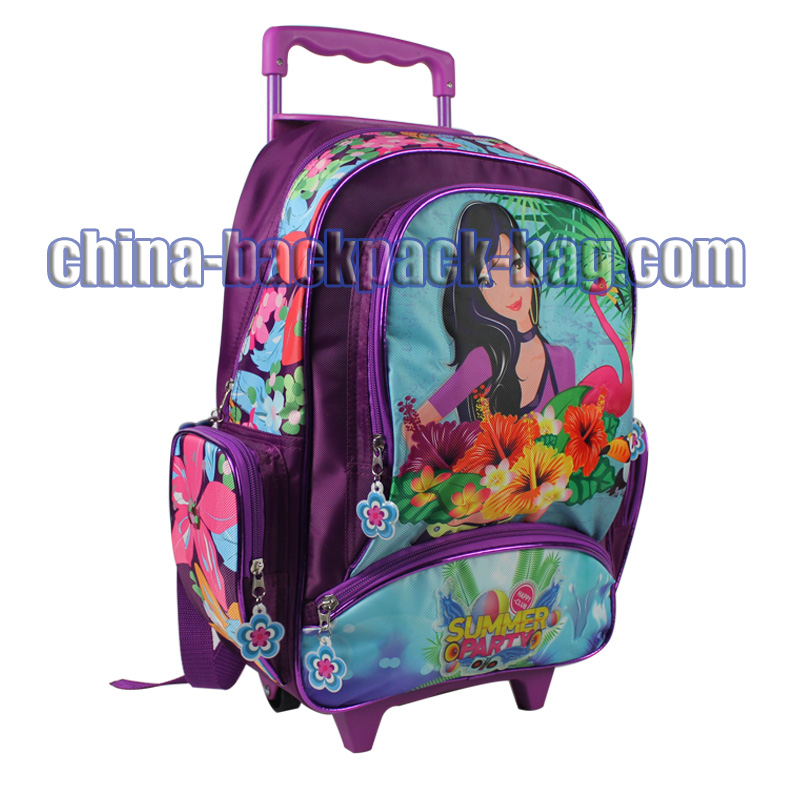 Boutique Girls Trolley Backpack, ST-15SM06TR