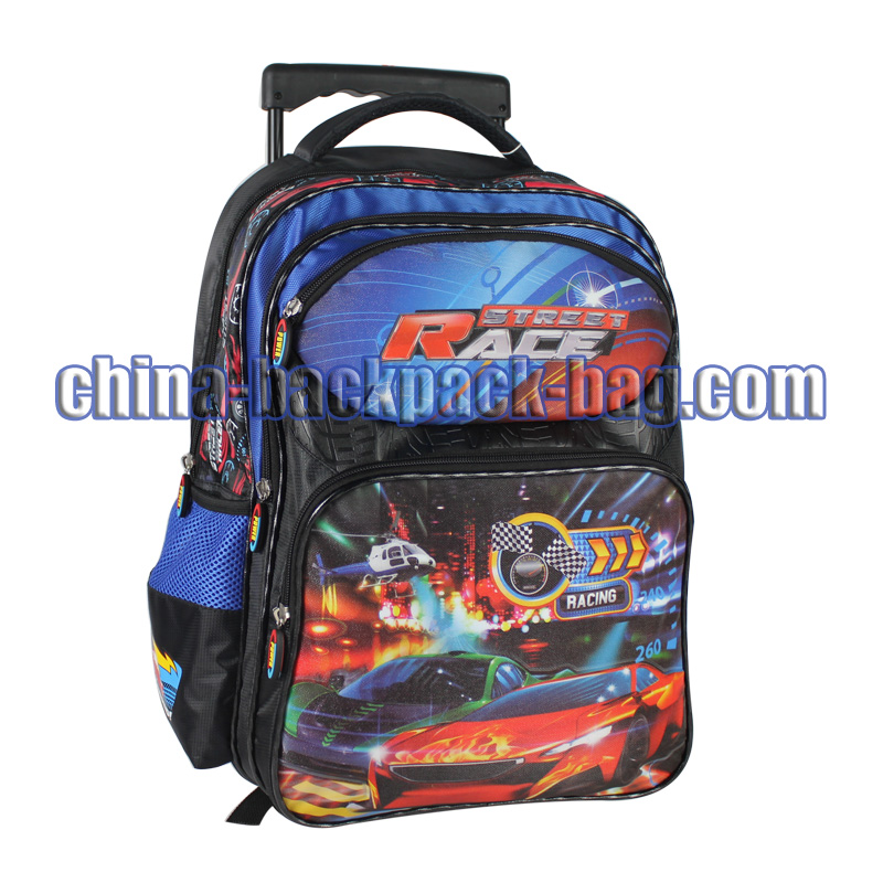 Race Car Kids Trolley Bags, ST-15SR04TR