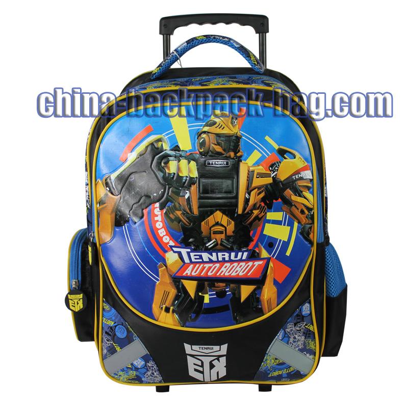 TENRUI Transformers Kids Rolling Bags - Kids Backpacks