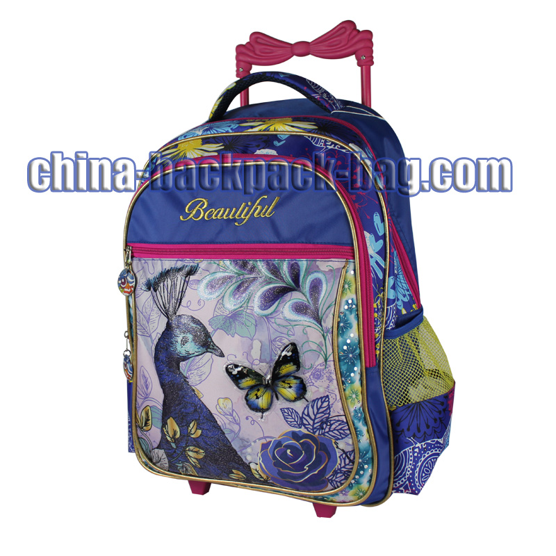 Three Compartment Rolling Backpack, ST-15BF06TR