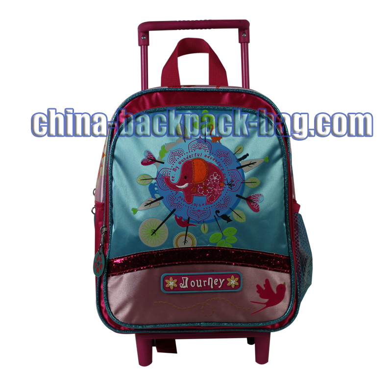 Two Compartments Kids Trolley Bags, ST-15JY05TR
